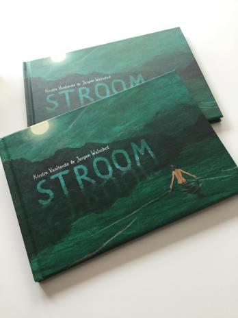 Stroom- foto van boek